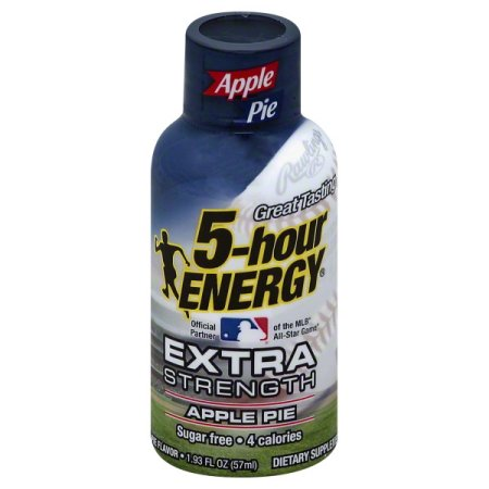 5-hour Energy Extra Strength Apple Pie,  Single Bottle