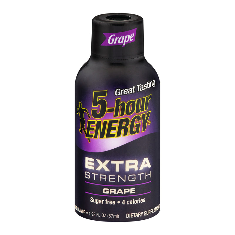 5-hour Energy Extra Strength Grape, Single Bottle