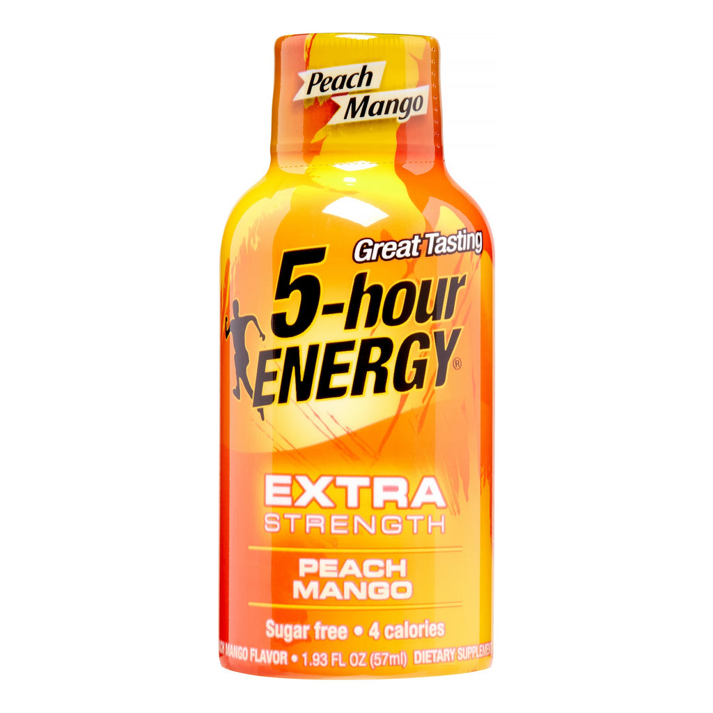 5-hour Energy Extra Strength Peach Mango, Single Bottle