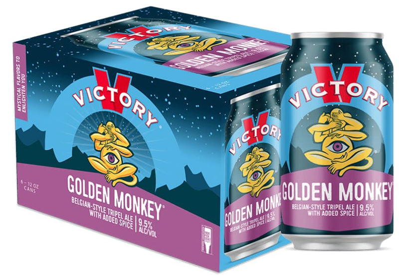 Victory Brewing Co, Golden Monkey Belgian-Style Tripel , 6 Can briansdiscountmarket