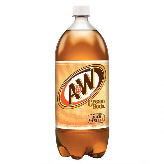 A&W Cream Soda, 2 L Bottle