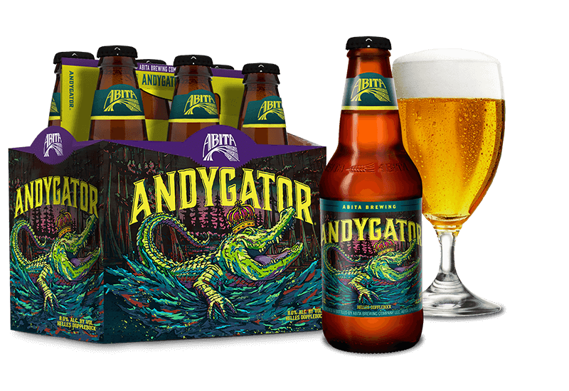 Abita Brewing, Andygator , 6 Pack Bottles