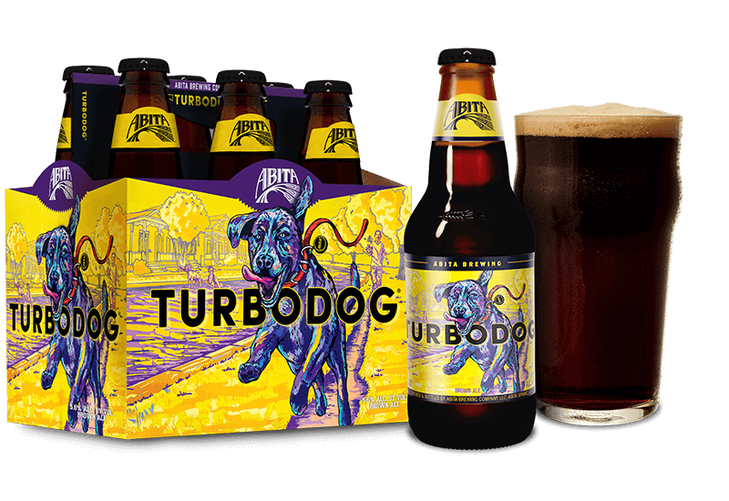 Abita Brewing, Turbodog Ale, 6 Pack Bottles briansdiscountmarket
