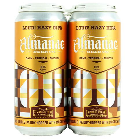 Almanac Beer Co, Loud! Hazy DIPA.