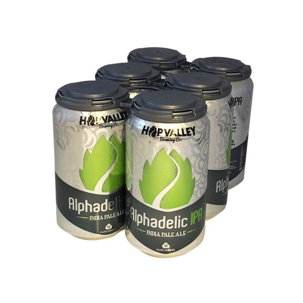 Hop Valley Brewing, Alphadelic IPA , 6 Cans briansdiscountmarket