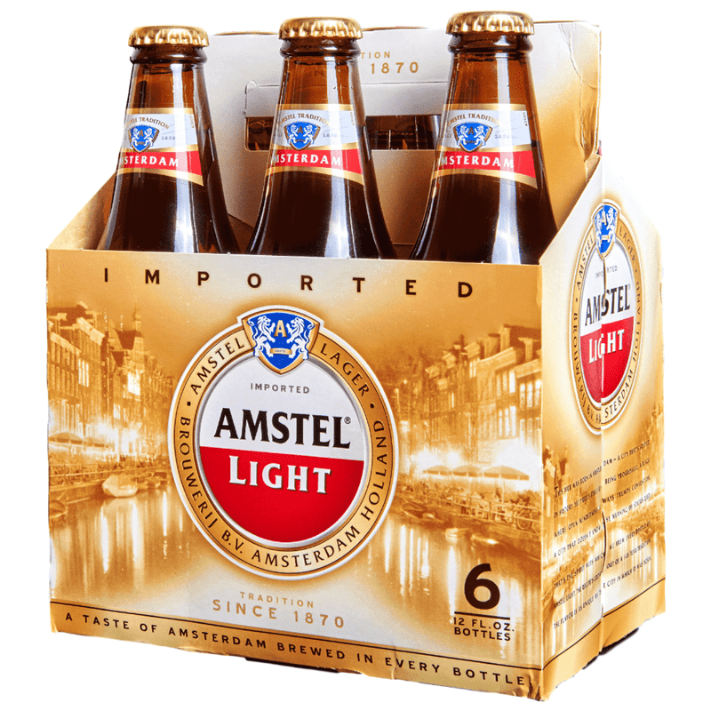 Amstel Light 6 Pack Bottles