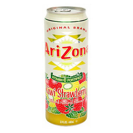 Arizona Tea Kiwi Strawberry 23 Oz Big Cans