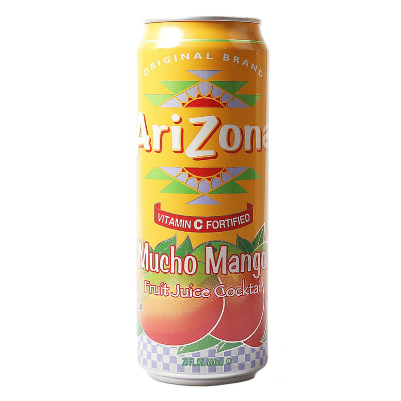 Arizona Tea Mucho Mango, 23.0 FL OZ Can