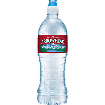 Arrowhead 100% Mountain Spring Water, 23.7 oz