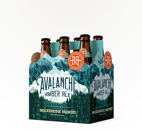Breckenridge Brewery, Avalanche Amber Ale, 6 Pack Bottle