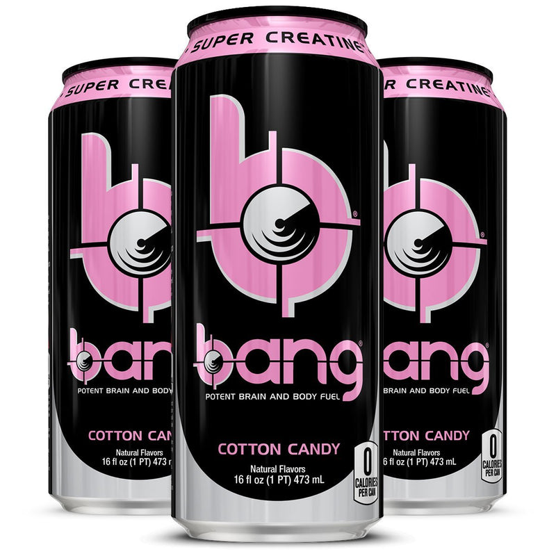 Bang Energy Drink , Cotton Candy 16FL OZ Can