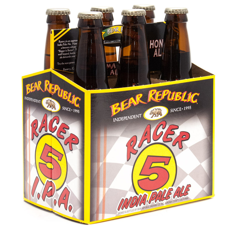 Bear Republic, Racer 5 IPA , 6 Pack Bottle