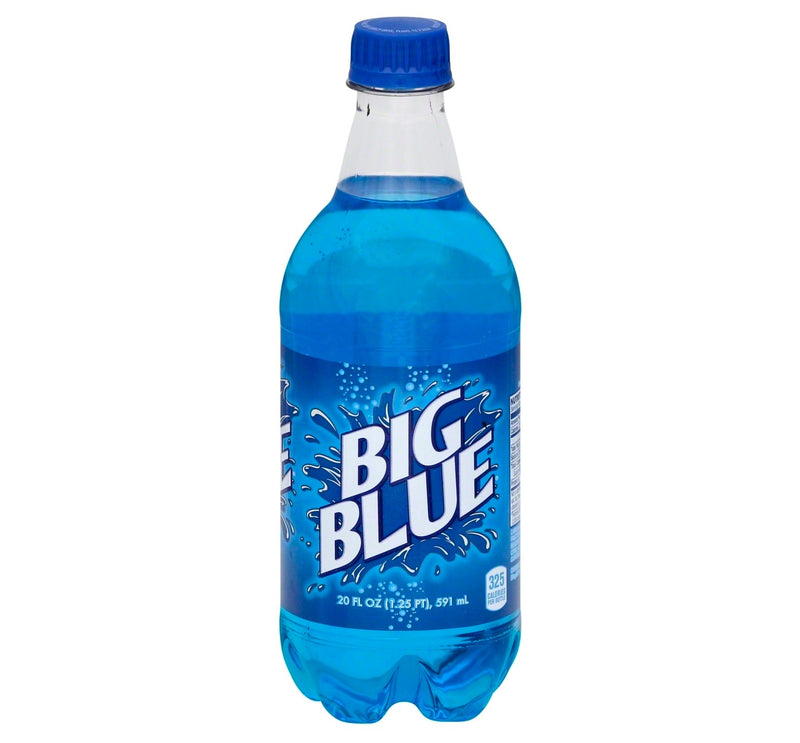 Big Blue Soda - 20 fl oz Bottle