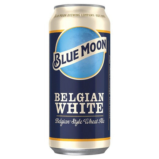 Blue Moon Belgian White Ale, 16 fl oz Can