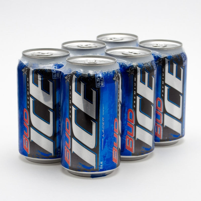 Bud Ice Beer, 6 Pack, 12oz Can