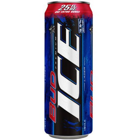 Bud Ice Beer, 25 fl oz Can