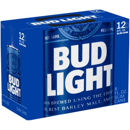Bud Light Beer, 12 pack, 8 fl oz Can
