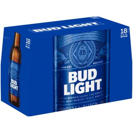 Bud Light Beer, 18 pack, 12 fl oz Bottle