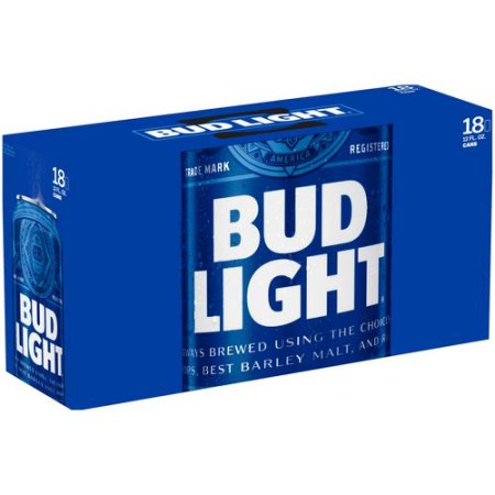 Bud Light Beer, 18 pack, 12 fl oz Can