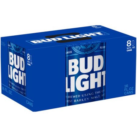 Bud Light Beer, 8 pack, 16 fl oz Can