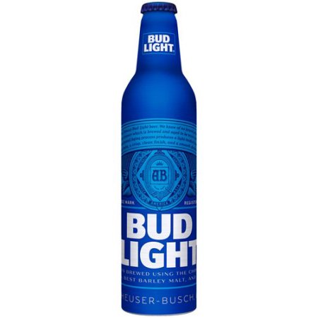 Bud Light Beer, 16 fl oz Aluminum Bottle