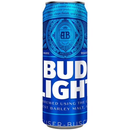 Bud Light Beer, 25 fl oz Can