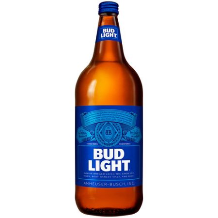 Bud Light Beer, 40 fl oz Bottle