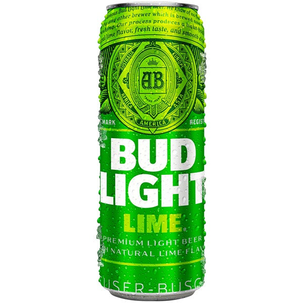 Bud Light Lime Beer, 25 oz Can