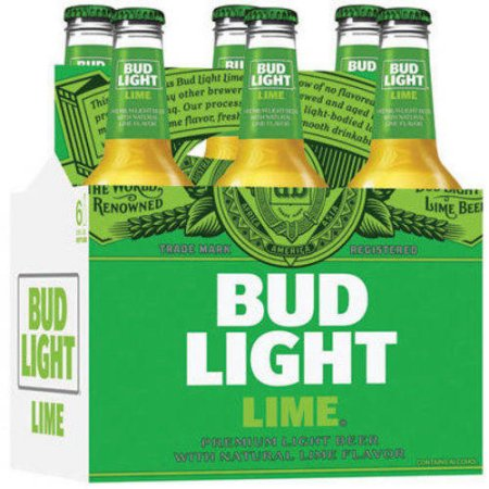 Bud Light Lime Beer, 6 pack, 12 fl oz