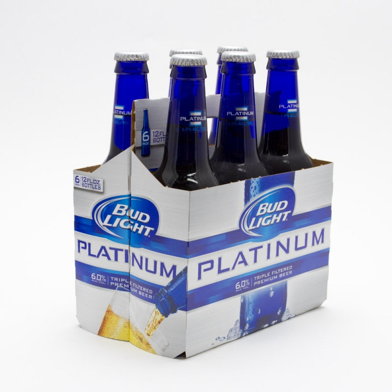 Bud Light Platinum Beer, 6 pack, 12 fl oz