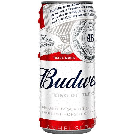 Budweiser Beer, 10 Oz. Can
