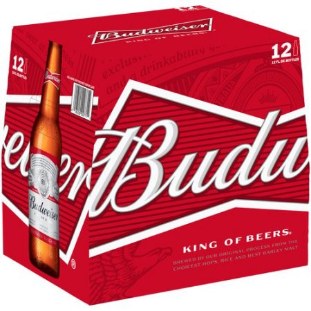 Budweiser Beer, 12 pack, 12 fl oz Bottle
