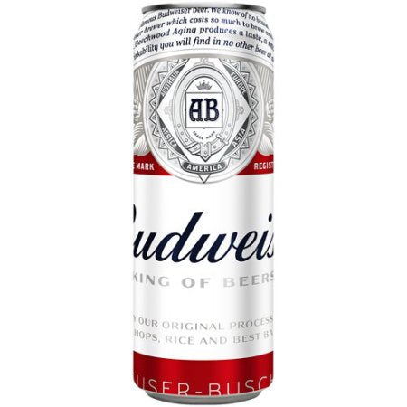Budweiser Beer, 25 fl oz Can