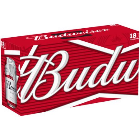 Budweiser Beer, 18 pack, 12 fl oz Can