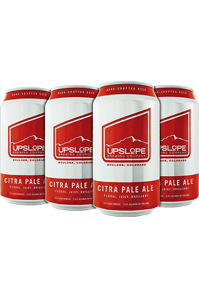 Upslope Brewing Co, Citra Pale Ale, 6 Pack Cans