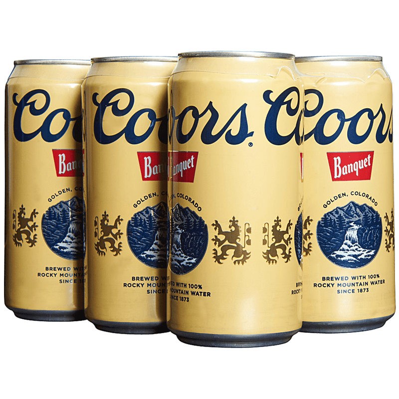 Coors Banquet, 6 pack, 12 oz can