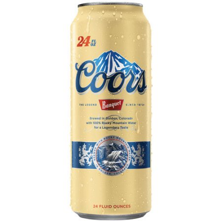 Coors Banquet Beer, 24 fl oz Can