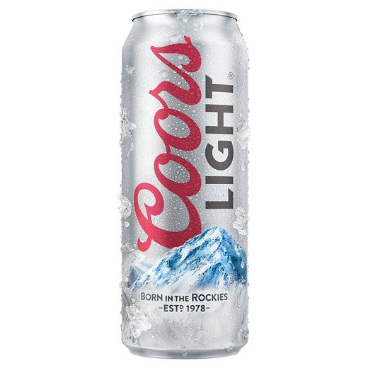 Coors Light, 24oz Can