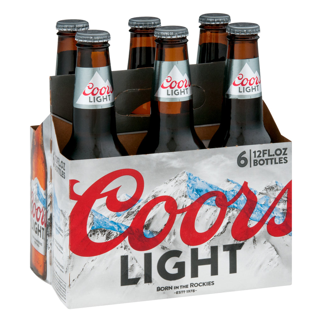 Coors Light Cold Activated Beer, 6 pack, 12 fl oz