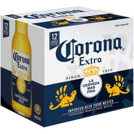 Corona Extra Beer, 12 pack, 12 fl oz Bottle