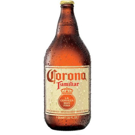 Corona Familiar Beer, 32 fl oz Bottle