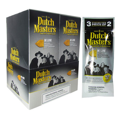 Dutch Masters Cigarillos, De Luxe (Pack of 3)