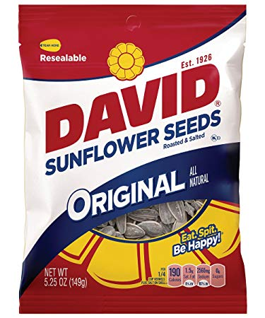 David Seeds Sunflower Seeds, Original, 5.25oz