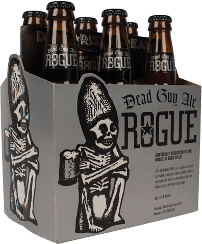 Rogue Dead Guy Ale, 6 Pack, 12 oz Bottle