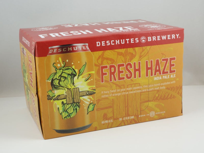 Deschutes Brewery, Fresh Haze IPA, 6 Pack Can