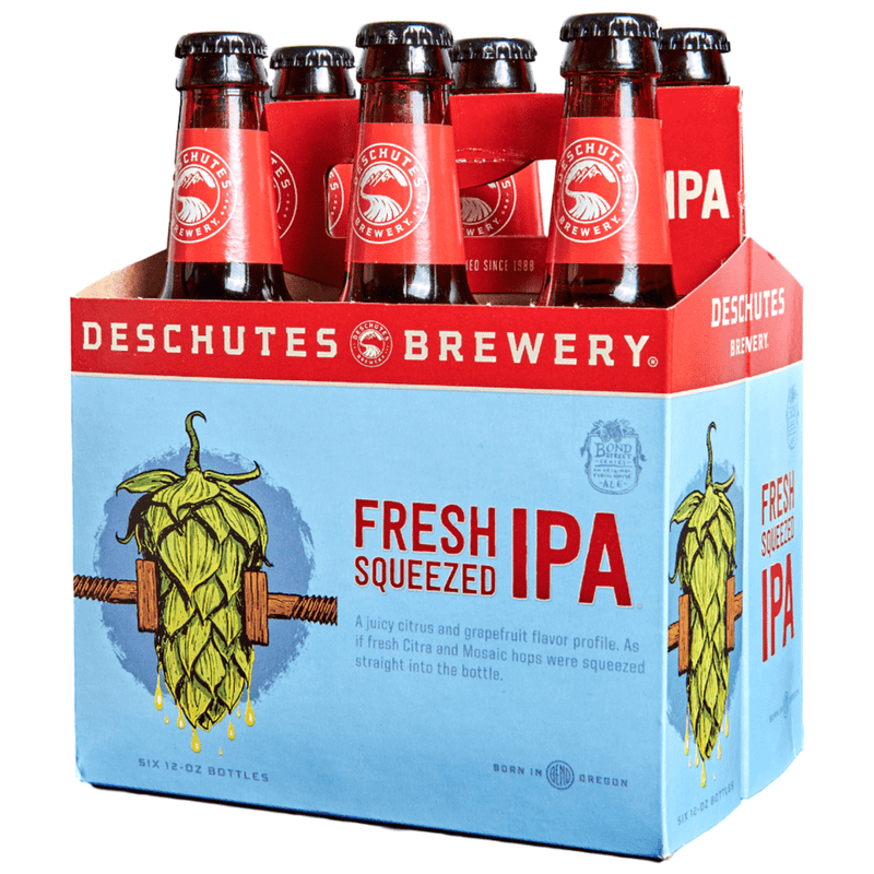 Deschutes Brewery Fresh Squeezed IPA, 6 Pack Bottle