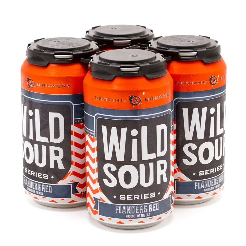 Destihl Brewey, Wild Sour Series, Flanders Red, 4 Pack Cans