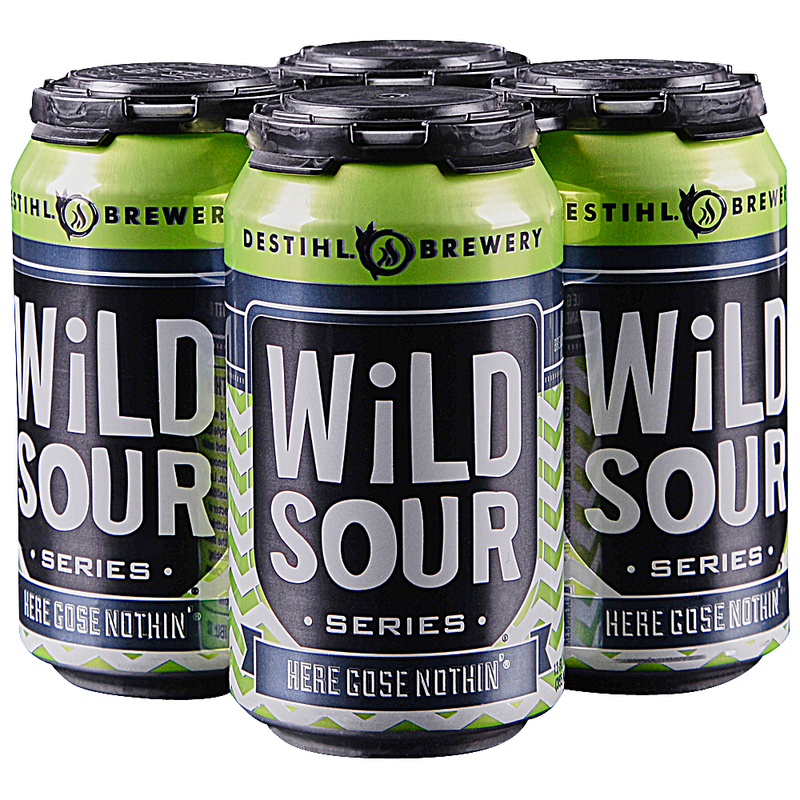 Destihl Brewery, Wild Sour Series, Here Goes Nothin', 4 Pack Cans