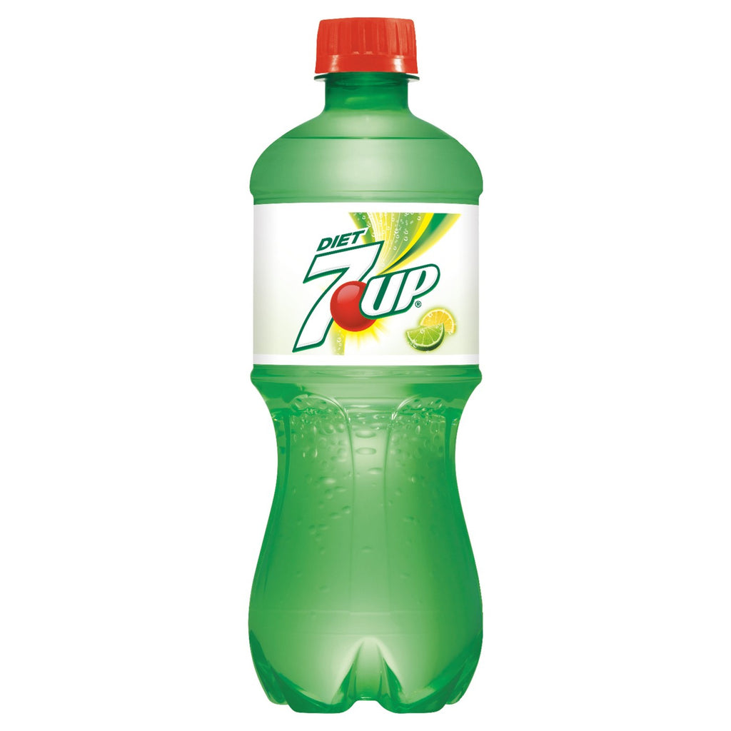 Diet 7UP - 20 fl oz Bottle