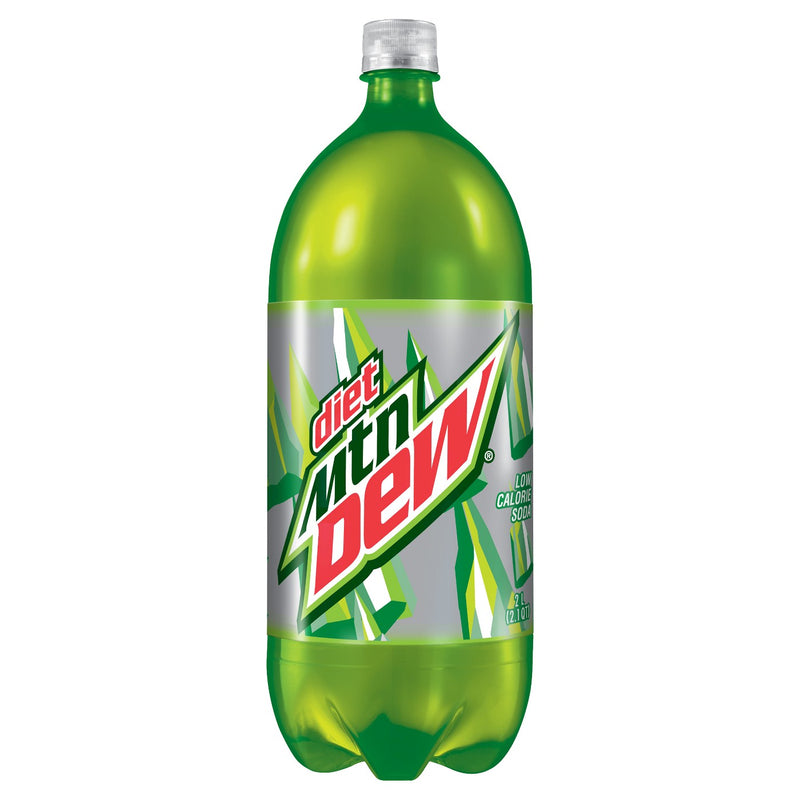 Diet Mountain Dew Soda - 2L Bottle
